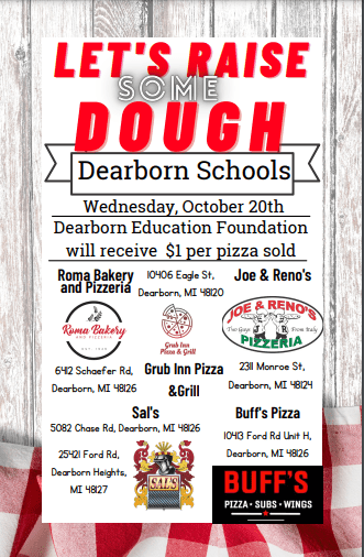 Dearborn Public Schools Fundraiser Event!